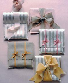 Những phong bì bé bé xinh xinh bằng vải-quà tặng noel độc đáo cho bạn gái