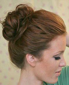 20+ Easy Updo for Long Hair