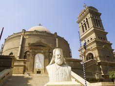 Saint Georges Orthodox monastery, Alexandria, Egypt #Alexandria #Egypt #Travel