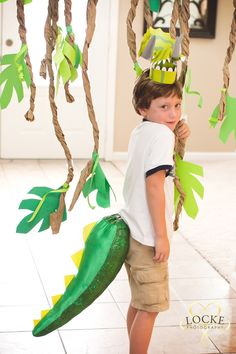 Dinosaur Party! Dino Tails By: As you wish Tails! http://www.etsy.com/shop/AsYouWishTails?ref=exp_listing