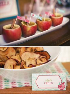 Rustic Apple of My Eye First Birthday // Hostess with the Mostess®