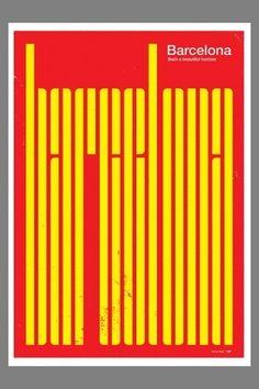 Barcelona poster  #design #typography