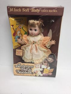 "Vintage 1970'S Eugene American Soft Baby Cries Blonde Hair Doll~14""~ NIB #eugenechildrenshourdolls #DollswithClothingAccessories"