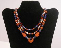 Southwestern Three Strand Necklace