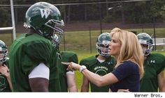 One of my favorite scenes in The Blind Side
