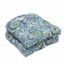 Pillow Perfect Zoe Mallard Outdoor Dining Chair Cushion & Reviews | Wayfair