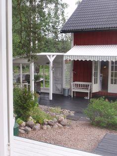 kesäkeittiö terassille Gazebo, Outdoor Structures, Patio, Outdoor Decor, Home Decor, House, Kiosk, Decoration Home, Terrace