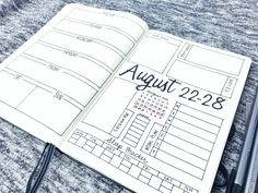 Weekly Spread: August 22-28, 2016