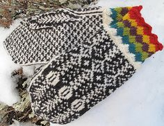 Ravelry: Across Norway Mittens pattern by Cynthia Wasner