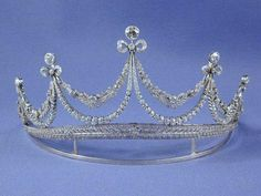 Belle Epoque tiara.  Very delicate and pretty.