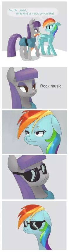 HAHAHA if you watch the episode with maud you will get it. Rock anyone?  Huuuhhh?