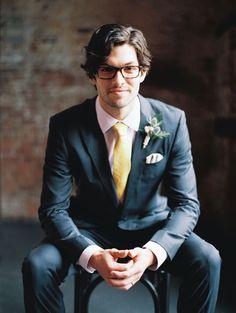 Full on charm from this groom @myweddingdotcom