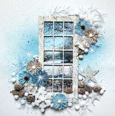 IngridG's Gallery: winter layout *Dusty Attic*
