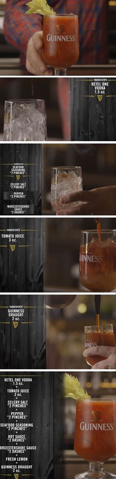 Guiness Bloody Mary | 19 St Patricks Day Cocktail Recipes for a Crowd