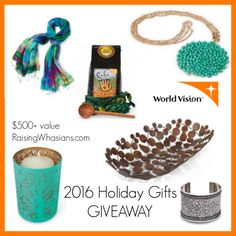 Holidays are just around the corner – who's on your list? Are you looking for that gift that goes above and beyond! Your gift can do so much more with the 2016 World Vision Gift Catalog. With over 250 handcrafted unique gifts from around the globe, each gift also provides food, clean water, and shelter for …