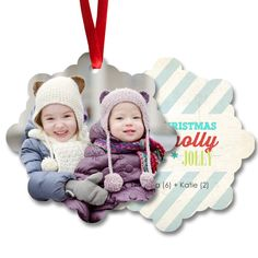 Custom Aluminum Photo Ornaments