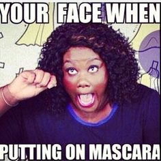 Putting on makeup in public. | 25 Awkward Moments Every Girl Understands