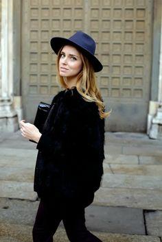 Chiara Ferragni Blonde Salad Street Style Hat