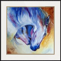 """""""ETERNAL+BOND+EQUINE""""+by+Marcia+Baldwin,+Shreveport,+Louisiana+//+An+original+oil+painting+by+equine+artist,+Marcia+Baldwin.++The+original+has+been+sold+to+a+collector+of+M+Baldwin+Fine+Art+Originals.++Please+enjoy+fine+prints+on+canvas+or+on+paper,+chose+a+frame+or+display+without+a+frame.++Enjoy+each+day+with+art+by+Marcia+Baldwin.+//+Imagekind.com+--+Buy+stunning+fine+art+prints,+framed+prints+and+canvas+prints+directly+from+independent+working+artists+and+photographers."""