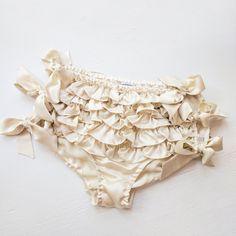 Silk ruffled panties the original silk ruffled by AngelaFriedman