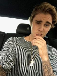 He's so attractive. Justin on Ellens birthday