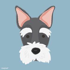 Boston Terrier Dog, Bull Terrier Dog, Scottish Terrier, Corgi Dog, Pet Dogs, Posca Art, Dog Icon, Dog Vector, Vector Free
