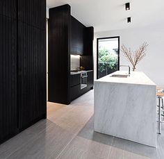 kitchen in marmor