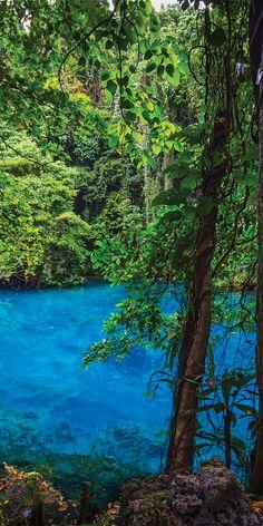 Blue Pools, Santo Espiritu, Vanuatu.