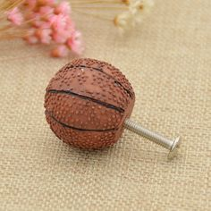 Concealed Drawer Dresser Pull Round Push Pop Out Cabinet Door Knob ...