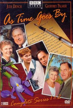 As Time Goes By is a British sitcom that aired on BBC One from 1992 to Starring Judi Dench and Geoffrey Palmer, British Sitcoms, British Comedy, British Actors, British Humor, Judi Dench, Bbc Tv, As Time Goes By, Comedy Tv, Movies