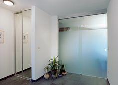 Antoons glas - Glazen deuren Oversized Mirror, Doors, Interior, Furniture, Home Decor, Corning Glass, Decoration Home, Indoor, Room Decor