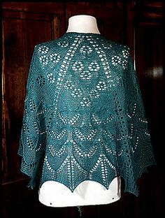 7 Sisters is a semi-circular shawl that can be done in 5, or more sections. It is knit from the top down using gathered stitches, lace work, and your choice of adding beads or nupps.