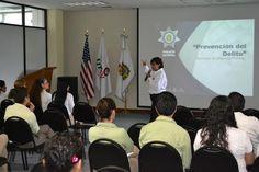En UTCV, imparte Secretaría de Seguridad Pública curso de prevención del delito.