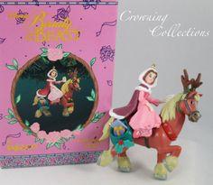 Enesco Disney Christmas Belle Ornament Beauty and the Beast Princess Belle Phillipe Reindeer Christmas