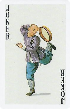 Joker of the Day (cliquez sur «archives Joker Playing Card, Joker Card, Playing Cards, Joker Clown, Clown Mask, Picasso Blue Period, Deck Of Cards, Card Deck, Tarot