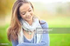 girl looking down smiling - Google Search