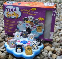 1999 Find FURBY Talking Electronic Matching Game w/ Box. Furbies Kids Toy Tiger #TigerElectronics