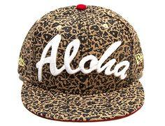 Island Camo Leopard Aloha 9Fifty Snapback Cap by FITTED x NEW ERA