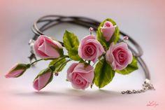 ** Liliya ** - En svadbu- rosas de color rosa de color rosa