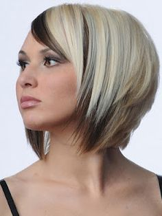 super stylish and trendy short hair with color highlight styles
