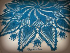 This doily comes from Magic Crochet No. 4. Started 4/7/2014; finished 4/25/2014. Made with #20 Lizbeth thread using a #12 hook. It measu...