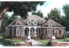 Nathaniel - Home Plans and House Plans by Frank Betz Associates