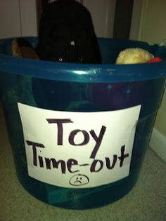 Just We Three: Behavior Battles- Toy Time Out