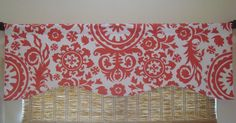 Suzani Custom Curtain Valance Kitchen by CreativeTouchDecor
