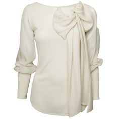 .....and a white one, which should be in everyones`closet - Mackage Silk Blouse With Bow