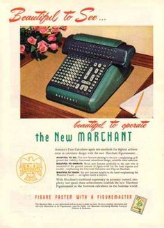 Marchant Business Machines – 1948