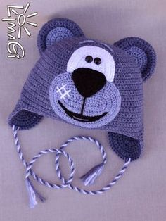 Exceptional Stitches Make a Crochet Hat Ideas. Extraordinary Stitches Make a Crochet Hat Ideas. Crochet Animal Hats, Crochet Kids Hats, Crochet Beanie Hat, Crochet Dolls, Crochet Clothes, Knitted Hats, Bonnet Crochet, Knit Or Crochet, Crochet Crafts