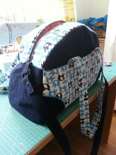 Farbenmix Weekender-Tasche