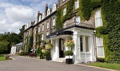 The Old Swan Hotel, Harrogate, England. Such a pretty building