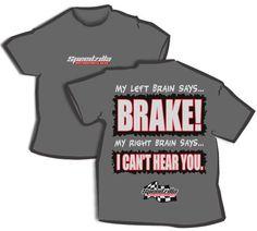 Go Kart Racing T Shirt By Speedzilla Motorsports Gear